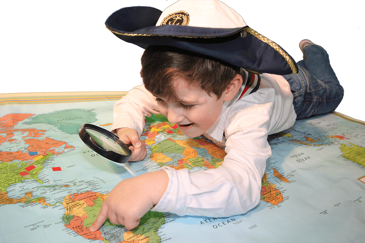 boy-explorer-on-map