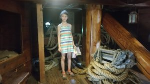 BLOG Virginia Ellie on a ship