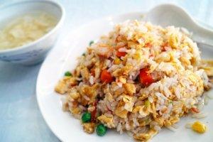 Fried Rice Chinese Cuisine Restaurant Diet Cuisine